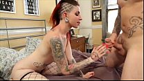 Tattooed Slut SHEENA ROSE Gets Fucked For Ink S...