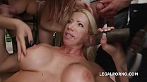 Happy B-day Lara De Santis! anal madness party with squirt cocktail, balls deep anal, DAP, TP & anal fisting image