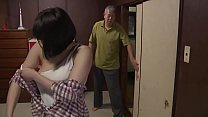 Dirty Japanese father in law fucking perfect daughter in law