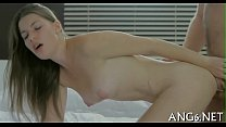Erotic anal and bawdy cleft drilling