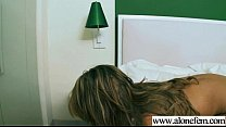 Alone Horny Gir l Please Herself With Stuffs c f With Stuffs clip 22
