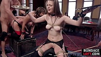 Bondage Subs Caned And Fucked In Bdsm Group