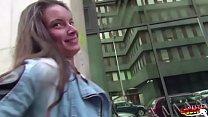 German Scout - Hot Teen ANITA B seduce to Fuck Anal Vorschaubild