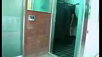Korean couple fucking in public restroom