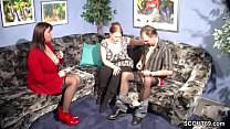 German MILF Teach Young Couple to Clear Sex Problems thumbnail