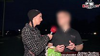german street casting - girl ask guy for sex