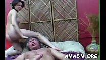 Mature tries juvenile boy for a serious female domination xxx Image