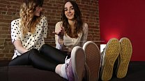 Mikaila & Nina's Feet in Your Face - www.clips4sale.com/8983/15982558 Thumbnail