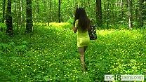 MY18TEENS   Katty West Walks Naked In The Woods