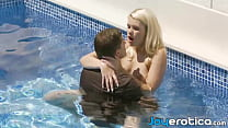 Beauty Erotically Fucked In Her Pool And She Lo