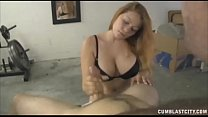 Busty Redhead Milf  Strokes A Big Hard Cock Preview