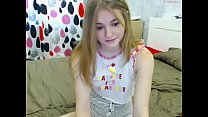 Young perfect body on webcam
