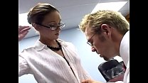 Secretary fucking in a bra garter and stockings pornhub video