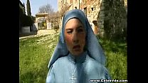 Desperate Nun fucked in disguise thumbnail