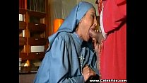Desperate Nun fucked in disguise thumbnail