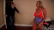 Mom Becomes a Stripper - Son Fucks Mom - Payton...