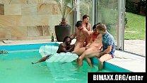 Bisexual boys from bimaxx suck cocks while the girls watch - bimaxx