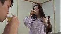 Japanese Asian Mom and Son drunken Hard Fuck Thumbnail