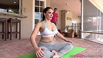 9129 Son Gets Caught Watching Mom Stretch For Yoga Class Then Fucks Her! preview