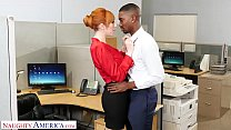 Naughty America - New guy at work gets lucky with the bosses slutty wife