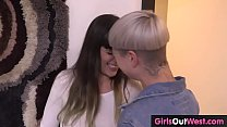 X vidoes.com • Lesbian girl pees into her pants then gets rimmed thumbnail