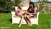 Summer Rapture By Sapphic Erotica - Lesbian Love Porn With Salome - Sascha