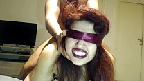 Blindfolded Wife Has NO idea BUT she FUCKED by Stranger !
