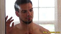 Tyson Pierce assfucked after shower