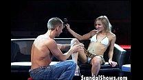 Hot girl get an amazing blowjob thumbnail