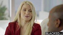 BLACKED Business Blonde Anikka Albrite Ass Fucked By a BBC - dakota james blacked thumbnail
