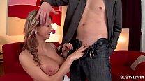 Busty Katerina Hartlova Returns For A Big Titty Fuck Delight thumbnail