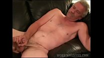 Mature Amateur Terry Jerking Off
