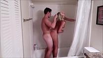 Amateur hot babe fucked in bathroom thumbnail