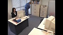 Officelady Used By Janitor