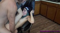 young girl gets used in the kitchen before school @andregotbars - download porn videos