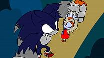 Sonic the werehog deflowers and fucks cream the rabbit by 4Ball/Fourball Image