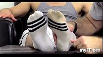 Homosexual fetish on feet