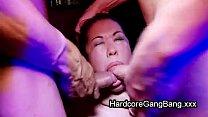 Hot busty Asian stripper gangbang fucked Vorschaubild