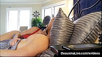 Curvy Cougar Deauxma Gets Pussy & Dick In Hot 3Way FuckFest! - 9Club.Top