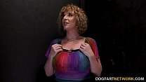 Busty Cougar Sara Jay Makes A BBC Cum - Gloryhole