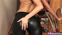 Twistys - (Jessica Lux) starring at Lovely In Leather porn thumbnail