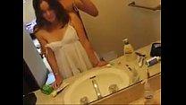 una cojida con mi novia en el bano. pornhub video