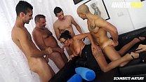 AMATEUR EURO - Amateur Group Sex With Italian Mature Laura Rey thumbnail