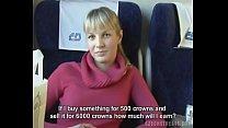 aishwarya rai chudai - Czech streets Blonde girl in train thumbnail