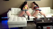 Stepmom and ste pdaughter double blowjob for s e blowjob for stepson