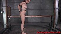Ashley Lane straddles electrified bar pornhub video