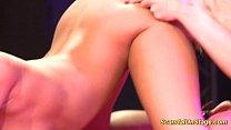 fisting on sex stage Vorschaubild