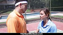 TheRealWorkout - Keisha Grey Pounded After Playing Tennis preview image