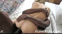 BBC FUCKS HARD HES BLONDE WHORE STEPSISTER - YO...