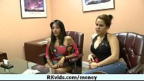 Girl getting payed for nudity 22